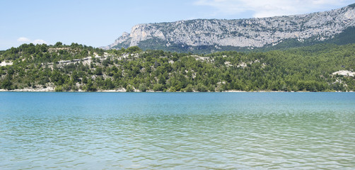 Lake of Sainte-Croix, France