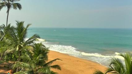 Tropical coastline ,