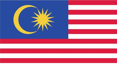 Illustration of the flag of Malaysia