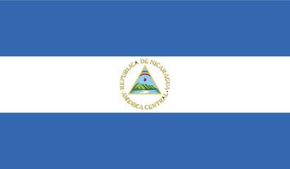 Illustration of the flag of Nicaragua