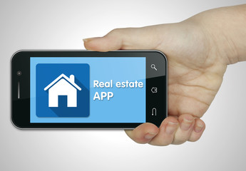 Real estate app. Mobile