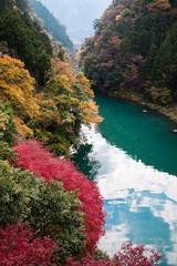 白丸湖の紅葉