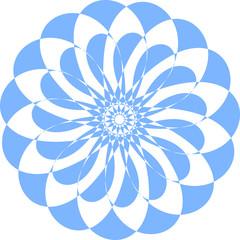 ornamental vector pattern