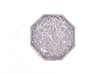 old shining silverware
