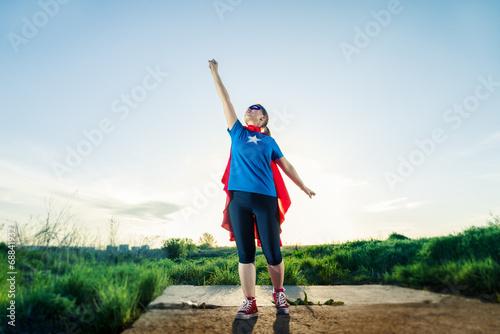 super hero woman