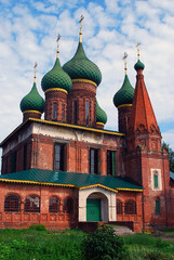 Church of Saint Nicolas in Yaroslavl, Russia.