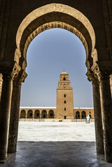 Mezquita Kairouan Túnez
