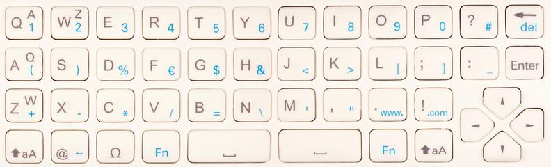 clavier télécommande téléviseur