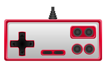 joystick for gaming console vector illustration EPS 10