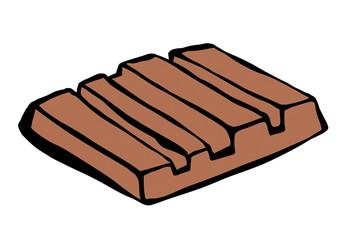 doodle chocolate bar