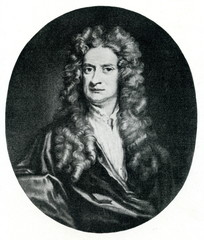Isaac Newton, English physicist and mathematician