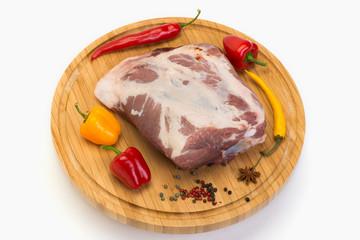 Schweineschulterbraten