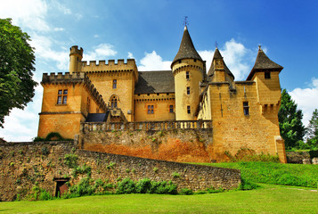 castles of France collection - Puymartin (Dordogne department)