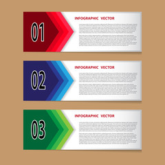 Infographic vector for creative work