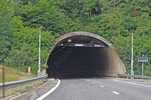 Deurstickers Tunnel Tunnel , Savoie