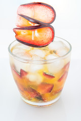 Sparkling Iced Plum Flavor Drink