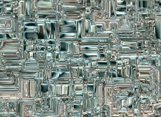 futuristic abstract glass transparent backgrounds. digital smoot