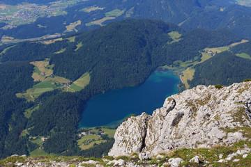 Ausblick auf den Hintersteiner See