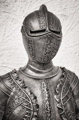 antique suit of armor