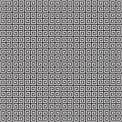 Seamless Greek Key Pattern Texture Background
