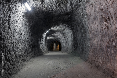 Salt mine from Praid, Romania - 68848176