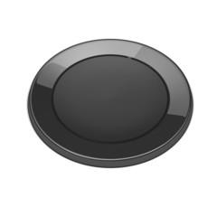 Black power button.
