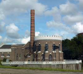 pumping engine station