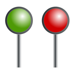 Grün oder rot - Ja oder nein