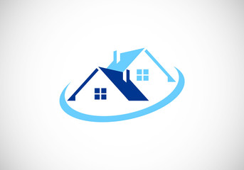 house vector logo