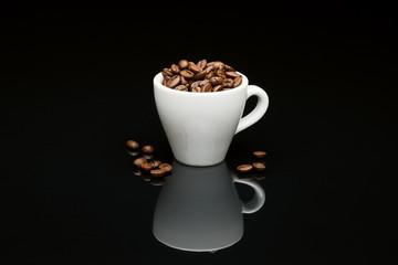 Bean's coffee cup