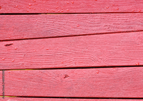 canvas print picture Rotes Tafel