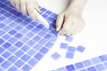 Cut tiles