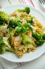 Pasta with broccoli