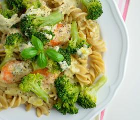 Pasta with broccoli