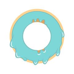 Donut. Vector illustration
