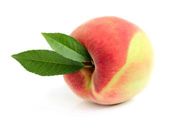 Ripe Moldavian peach.