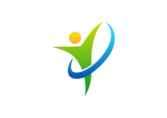 wellness,logo,health,people,nature,fitness,business,symbol