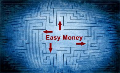 Easy money maze