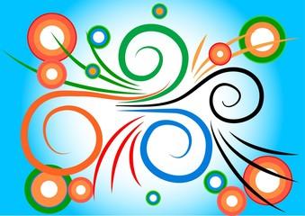 espirales y aros