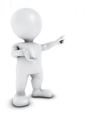3D Morph Man Presenting