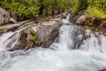 Rapids on the Paradise River, Mt. Rainier National Park