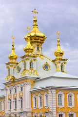 Peterhof Palace. East Chapel housing the Grand Palace.