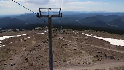 Mount Hood Ski Lift Ride
