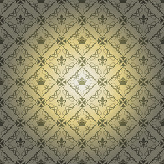 damask decorative wallpaper