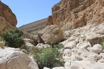 Moqul Cave in Wadi Bani Khalid,  Oman