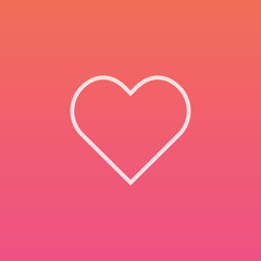 Heart - Finely crafted line icons