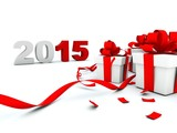 2015 New Year with presents