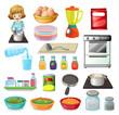 Food and kitchenware