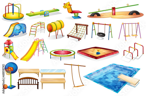 Playground equipments - 68858742