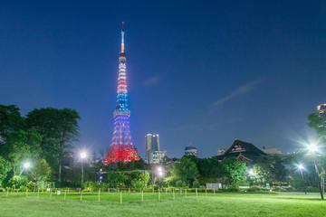 東京タワー オリンピックカラー